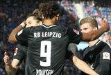 """Šešis įvarčius pelniusi """"RB Leipzig"""" komanda nepaliko šansų """"Nurnberg"""""""