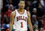 """D.Rose'as: """"Pacers"""" – puiki komanda, bet vienintelis mūsų varžovas Rytuose yra """"Heat"""""""