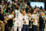 """""""Celtics"""" pristabdė LeBroną ir iškovojo triuškinamą pergalę"""