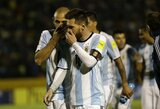 """Apsikvailino: L.Messi sumaišė """"Zenit"""" puolėją S.Driussi su eiliniu sirgaliumi"""