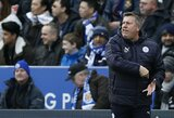"""""""Leicester City"""" priėmė sprendimą dėl vyriausiojo trenerio posto"""