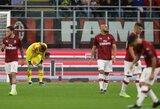 """Tikras košmaras: """"Milan"""" užfiksavo blogiausią startą """"Serie A"""" lygoje per pastaruosius 81-erius metus"""
