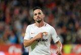 """Ispanijoje laimėjusi """"Sevilla"""" ir toliau kyla aukštyn"""