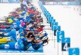IBU taurės etape Lietuvos biatlonininkai šaudė pro šalį