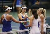 NCAA teniso čempionate J.Mikulskytės ir A.Paražinskaitės komanda nepateko į konferencijos pusfinalį