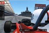 S.Vettelio debiutas virtualiose lenktynėse paženklintas incidentais