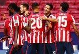 """6 įvarčius varžovams atseikėjęs """"Atletico"""" iškovojo triuškinamą pergalę"""