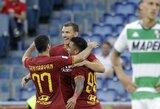 """E.Džeko tikisi, jog H.Mkhitaryanas liks rungtyniauti """"Roma"""" ekipoje ilgą laiką"""