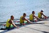 Lietuvos keturvietininkai pasaulio irklavimo čempionate finišavo šešti