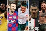 Top 100: daugiausiai uždirbantys pasaulio sportininkai