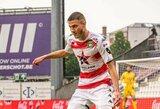 Belgijoje E.Utkus žaidė visas rungtynes, Izraelyje Lietuvos vartininkai pradėjo naujo sezono kovas