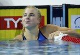 Rekordiniu greičiu plaukusi R.Meilutytė ir A.Šidlauskas pateko į Europos čempionato finalą
