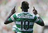"""Oficialu: M.Dembele palieka """"Celtic"""" ir keliasi rungtyniauti į """"Lyon"""" ekipos gretas"""