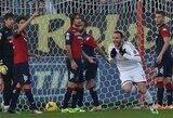 """""""Milan"""" išsigelbėjo tik rungtynių pabaigoje, """"Inter"""" prarado du taškus"""
