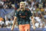 """""""Real"""" taikinys D.Van De Beekas paneigė gandus, jog žiemą paliks """"Ajax"""""""