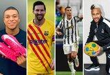 """""""Forbes"""" paskelbė daugiausiai uždirbusių 2020m. futbolininkų sąrašą: L.Messi nežymiai aplenkė C.Ronaldo, dešimtuke nemažai pasikeitimų"""