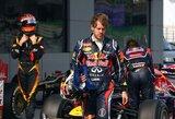 """S.Vettelis: """"Po lenktynių nemėgstu apsimetinėti"""""""