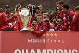 """""""Liverpool"""" kapitonas J.Hendersonas triumfą Čempionų lygoje įamžino pasidarydamas tatuiruotę"""