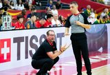 """N.Nurse'as pritaria FIBA iškeikusiam D.Adomaičiui: """"Buvau pamiršęs, kaip linksma su jais"""""""