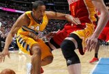 """A.Millerio dvitaškis atnešė pergalę """"Nuggets"""" ekipai NBA atkrintamųjų varžybų starte"""