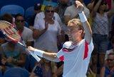 Ukrainos teniso rinktinė kovos dėl Hopmano taurės turnyro čempionų titulo