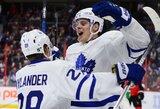 Ledo ritulio istorijoje to dar nebuvo: 19-metis puolėjas surengė pribloškiantį debiutą NHL lygoje