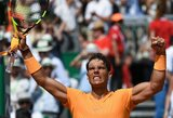 R.Nadalis Monake pirmasis pateko į finalą
