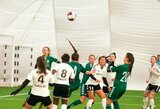 Moterų futbolo sezonui artėjant – pasikeitę planai, individualios treniruotės ir laukimas geresnių laikų