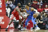 """R.Westbrookas neturi MVP favorito: """"Jis kiekvienais metais išrenkamas kitaip"""""""