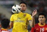 """""""Arsenal"""" sutriuškino ir Vietnamą, """"Chelsea"""" įveikė tailandiečius"""