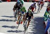 """A.Valverde sutrukdė P.Saganui laimėti antrą """"Vuelta a Espana"""" etapą iš eilės"""