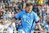 Neįtikėtina: greitai 52-ąjį gimtadienį minėsiantis legendinis Japonijos futbolininkas K.Miura vis dar tęsia karjerą
