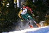Pasaulio biatlono taurės persekiojimo lenktynėse – V.Strolios klaidos ir dvigubas prancūzų triumfas