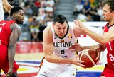 Europos čempionato atrankos rungtynes su Čekija lietuviai žais Vilniuje