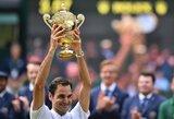 Aštuntasis Vimbldono titulas buvo atšvęstas griausmingai: R.Federeris nepamena, kas vyko tą vakarą
