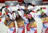 Pasaulio kalnų slidinėjimo čempionate – Šveicarijos rinktinės triumfas