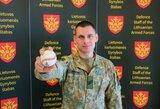 Iš Irako smėlynų – į beisbolo treniruotę: Lietuvos karys gimtinei atstovauja keliais būdais