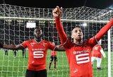 """Prancūzijos """"Ligue 1"""": """"Saint-Etienne"""" nesugebėjo išlaikyti pranašumo prieš """"Rennes"""" ekipą"""