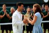 """Su karališkąja šeima po pergalės bendravęs N.Djokovičius: """"R.Federeris įkvepia ir mane"""""""