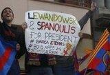 """""""Barcelona"""" gerbėjai tyčiojasi iš """"Real"""": Lewandowskį ir Spanoulį – į prezidentus"""