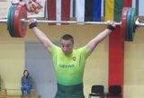 S.Lichovojus liko per žingsnį nuo Europos jaunimo sunkiosios atletikos čempionato medalio