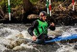 Lietuvos vyrų baidarių slalomo rinktinė Europos čempionate – 15-a