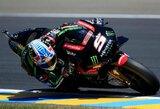 """""""MotoGP"""" kvalifikaciją Prancūzijoje laimėjo vietinis herojus"""
