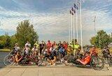 Neįgalieji dviratininkai startavo istoriniame Lietuvos čempionate