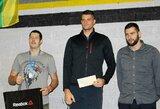 Olimpinis vicečempionas S.Ritteris tapo pasaulio rekordininku!