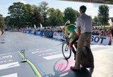 A.Gedraitytė debiutavo WCC ekipos gretose, Klaipėdos komandos dviratininkai Zagrebe nesužibėjo