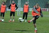Futbolo rinktinės dvikova Slovakijoje – po 20 metų pertraukos