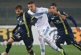 """""""Lazio"""" nesugebėjo įveikti lygos autsaiderės"""