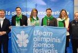 Žiemos festivalio dalyvius išjudins žinomi sportinkai