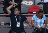 D.Maradona nustebo neatsidūręs tarp kandidatų treniruoti Argentinos rinktinę
